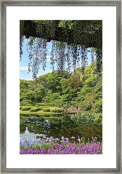 Imperial Gardens Framed Print