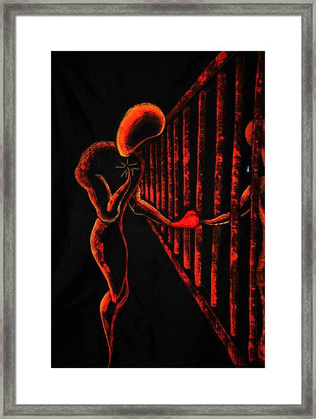 Imprisoned Love Framed Print