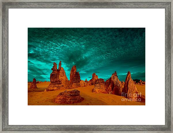 In All Directions Framed Print