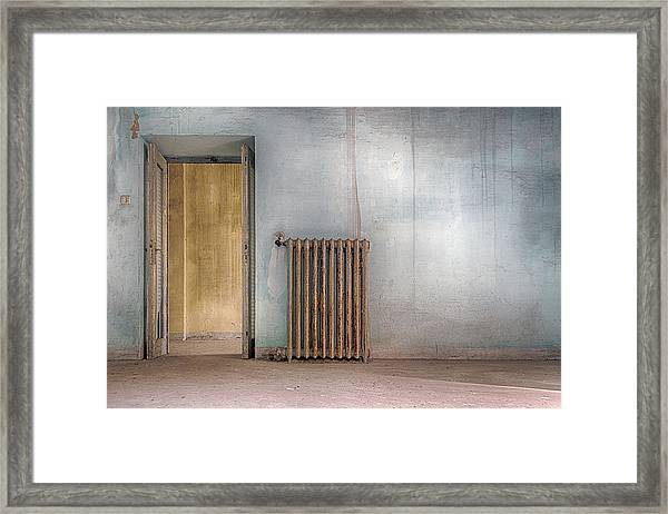 In Case Of Cold Framed Print