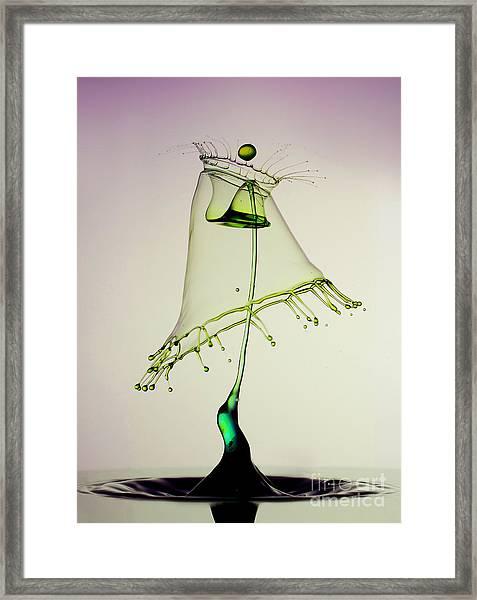 In Green Framed Print