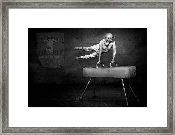 In His Prime Framed Print