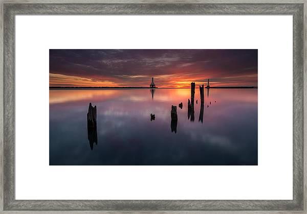 In Port Framed Print