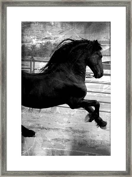 In Power Framed Print