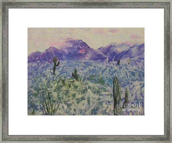 In Quietness And Trust Framed Print