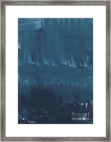 In Stillness Framed Print
