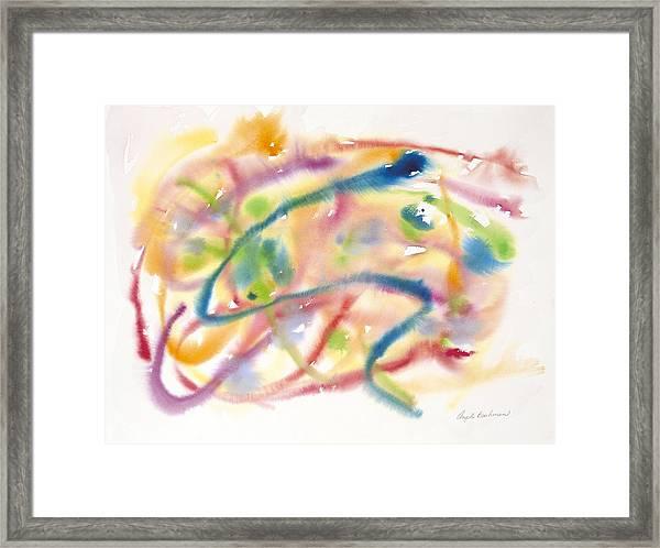 In The Flow Framed Print