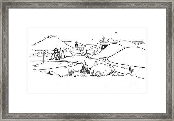 In The Land Of Brigadoon  Framed Print