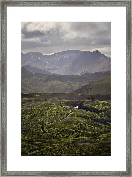 In The Land Of The Few Framed Print