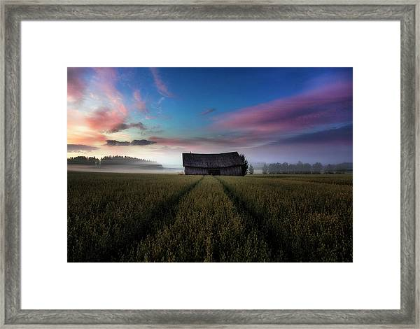 In The Middle Of The Day. Framed Print