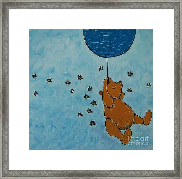 In The Pursuit Of Honey Framed Print