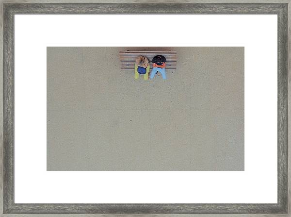 In The Solitude Of Cities... Framed Print