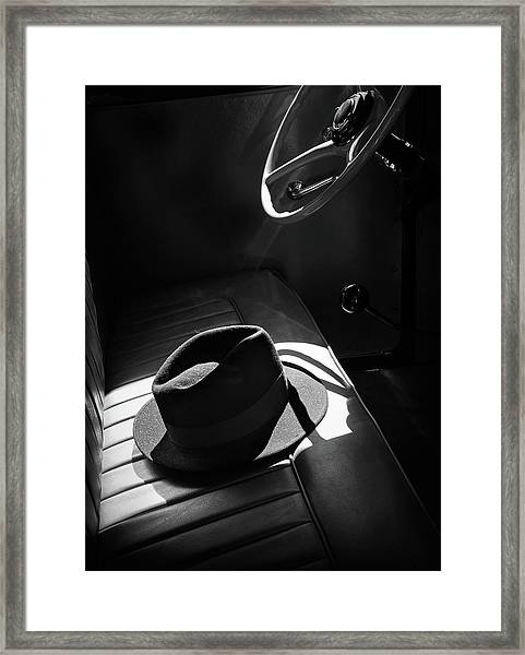 In The Sun Framed Print