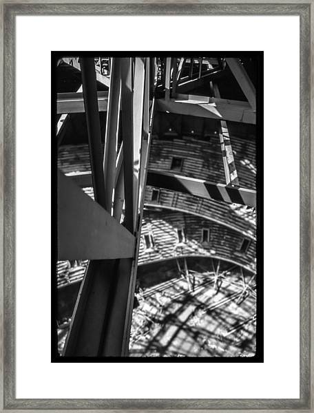 In The Trusses Framed Print