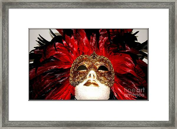 Incognito.. Framed Print