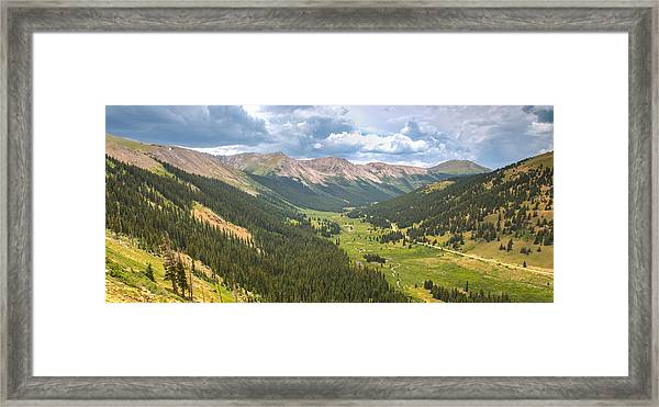 Independence In Colorado - Color Framed Print