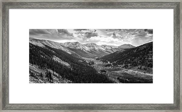 Independence In Colorado Framed Print