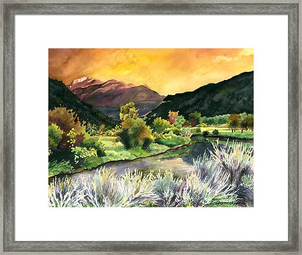 Independence Pass Framed Print