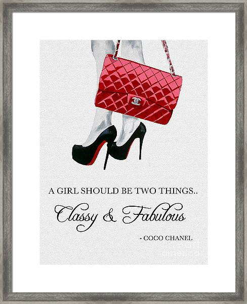 Independent Quote Framed Print