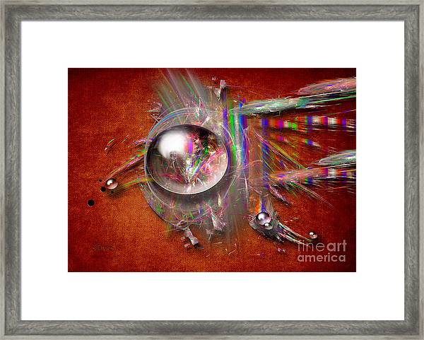 Indian Glass Balls Framed Print
