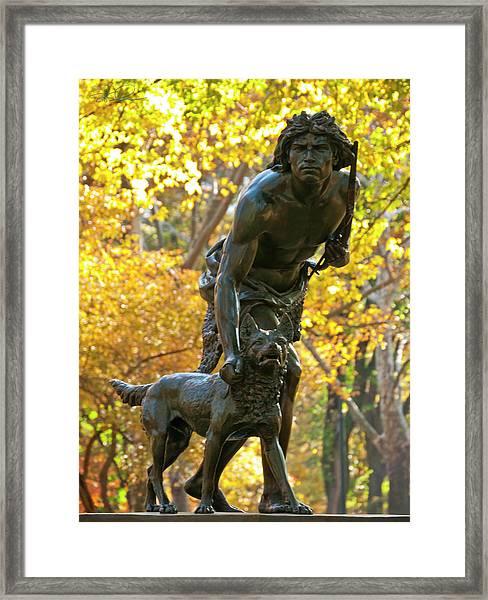 Indian Hunter Framed Print