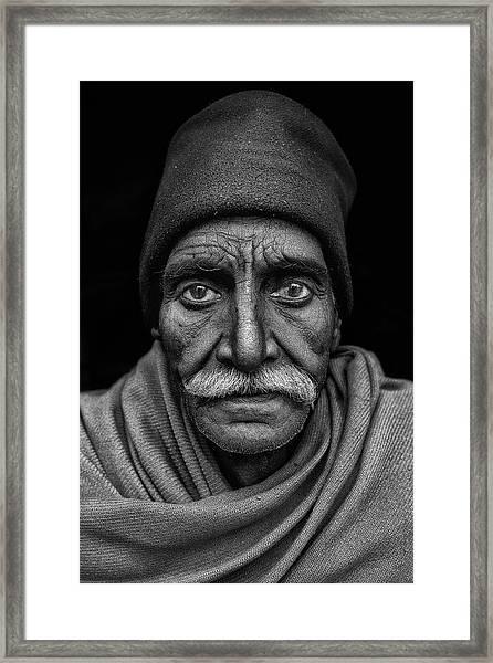 Indian Man Framed Print