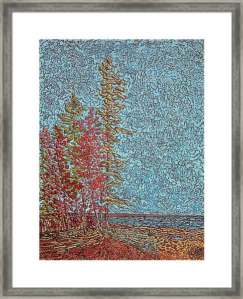Indian Point - May 2014 Framed Print