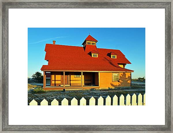 Indian River Lifesaving Station Museum Framed Print