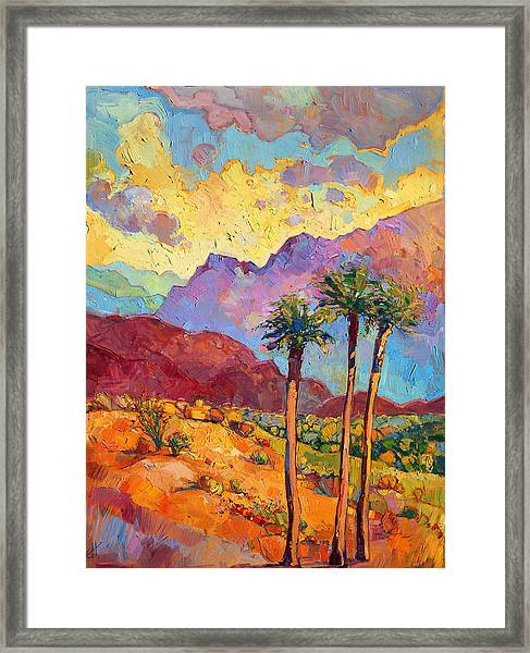 Indian Wells Framed Print