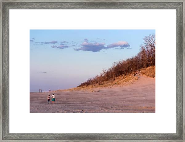 Indiana Dunes National Lakeshore Framed Print