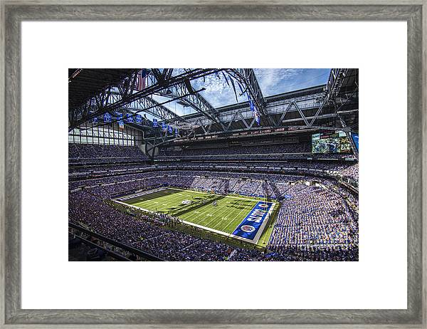 Indianapolis Colts 3 Framed Print