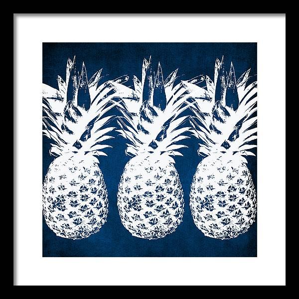 Pineapple Framed Art Prints Fine Art America