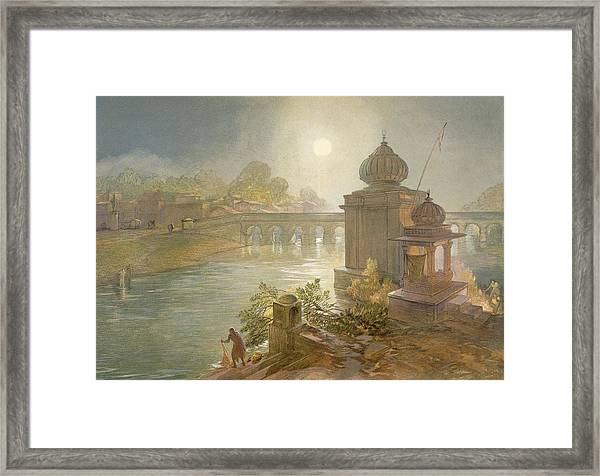 Indore, From India Ancient And Modern Framed Print