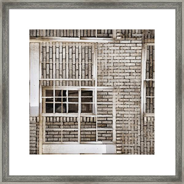 Industrial District Abstract Number 1 Framed Print