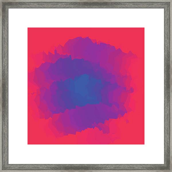 Inferno Background Framed Print