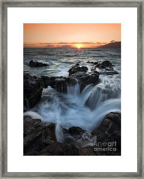 Influx Framed Print