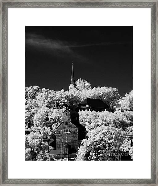 Infrared Stillwater Framed Print