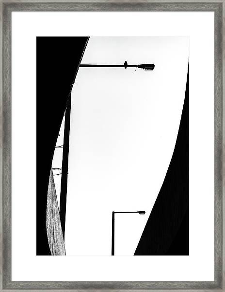 Inhabited Framed Print