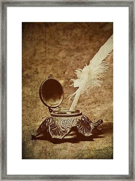 Inkwell II Framed Print