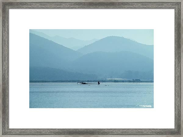 Inle Lake Framed Print