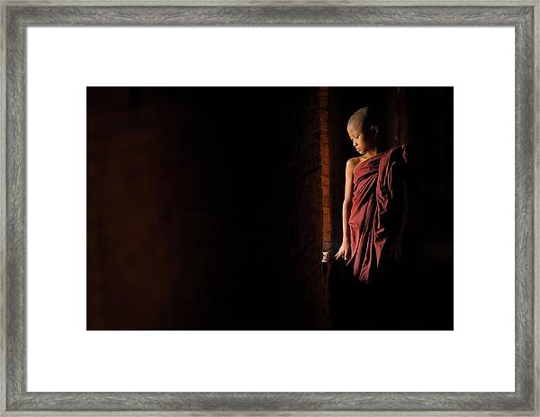 Inner Peace Framed Print by Vichaya