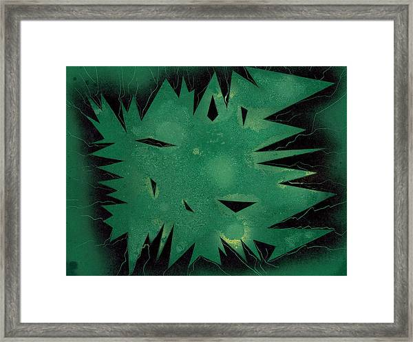 Inner Space Framed Print
