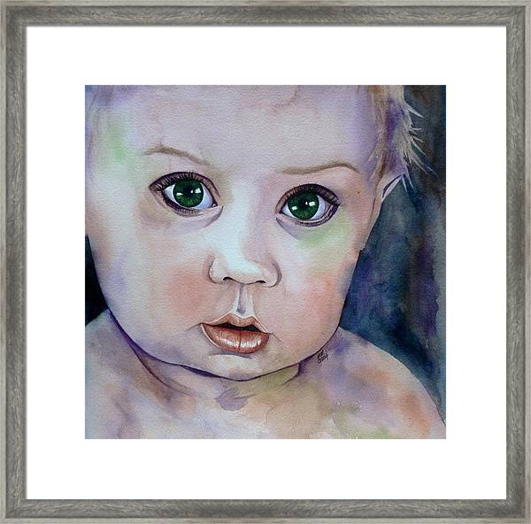 Innocent  Framed Print