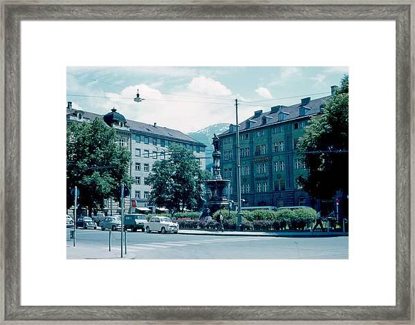 Innsbruck Austria 3 1962 Framed Print by Cumberland Warden