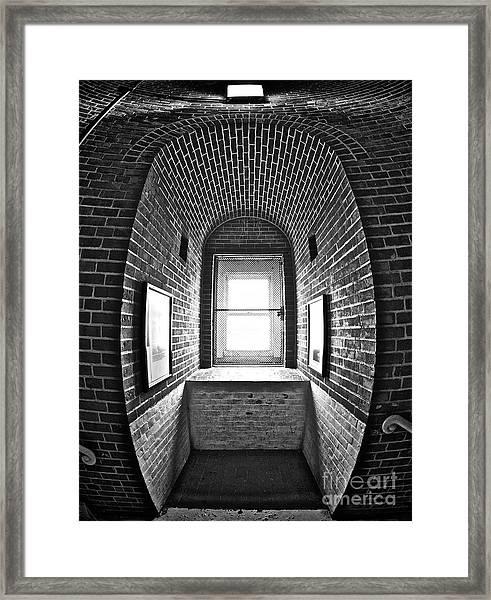 Inside Barney Framed Print