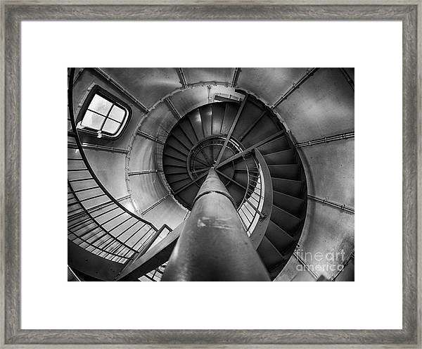 Inside Edgartown Lighthouse 1 Framed Print