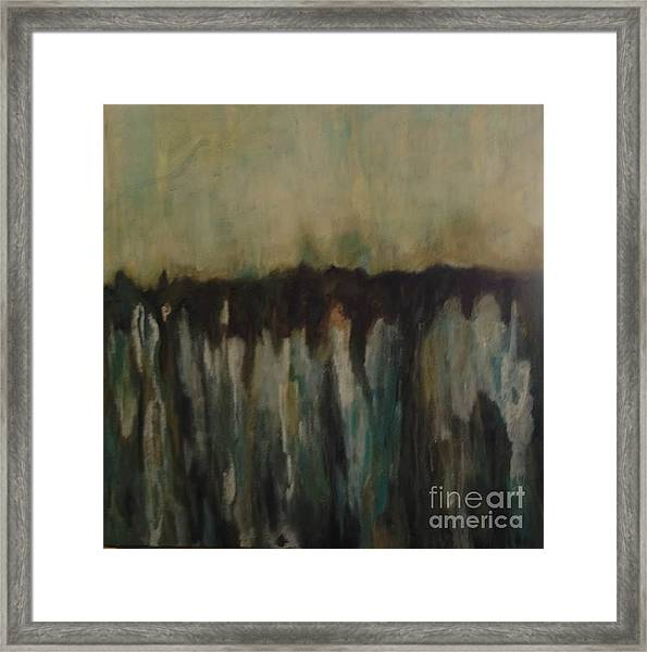 Inside Me I Have A Garden And An Underground Spring Framed Print by Bebe Brookman