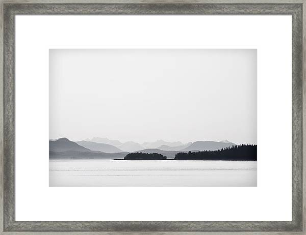 Inside Passage Alaska Framed Print