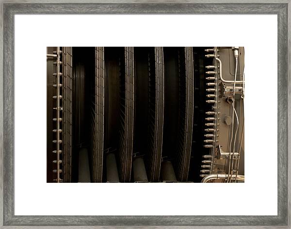 Inside The Engine Framed Print