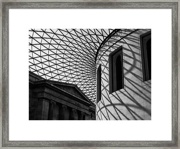Inside The Gallery Framed Print